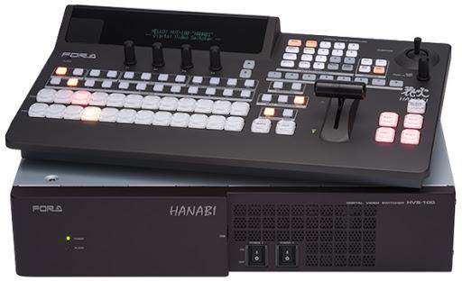 專業級導播機 FOR-A  HVS-100